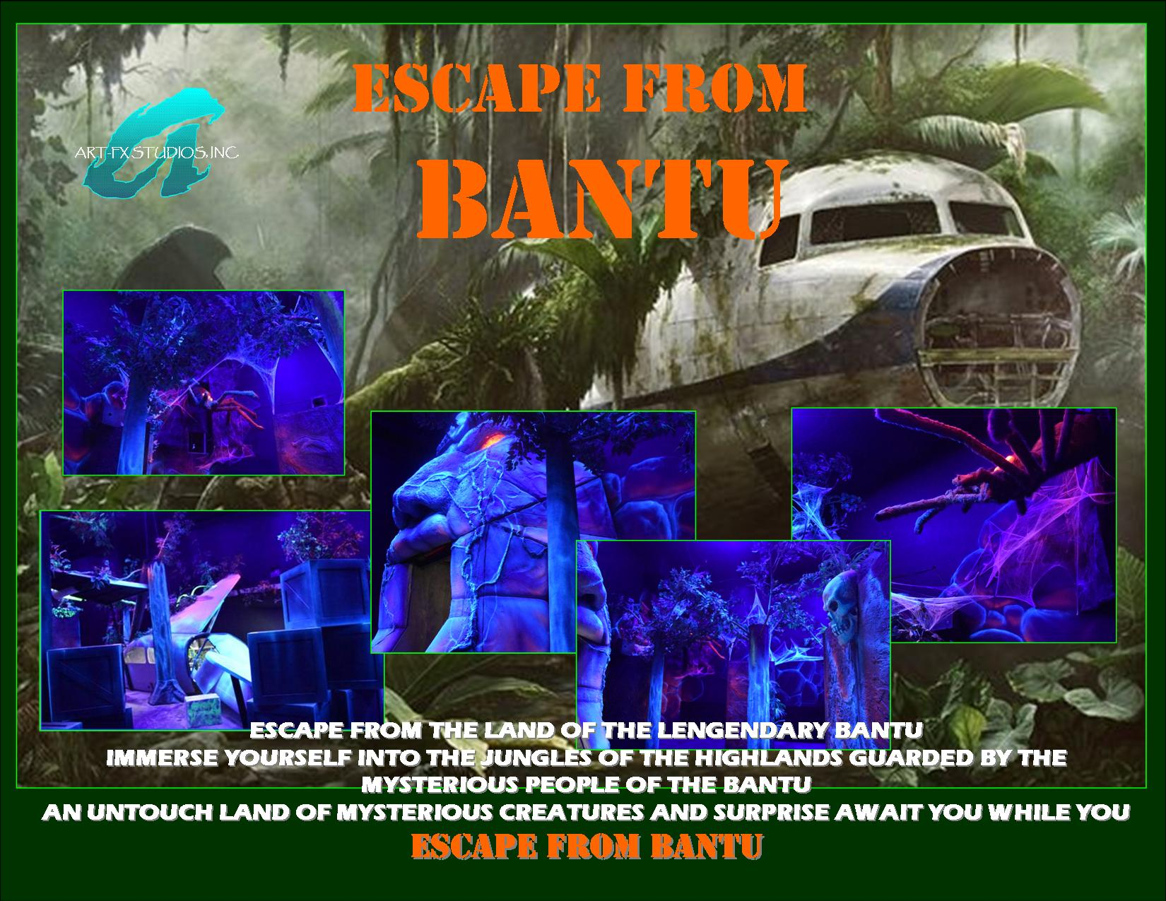 escapes from bantu